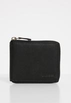 BOSSI - Primzp wallet - black