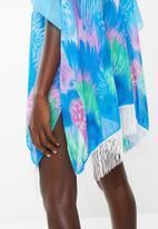 Joy Collectables - Starburst kimono - turquoise