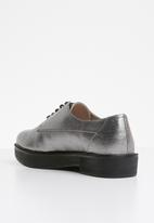 MANGO - Bristol brogues - grey