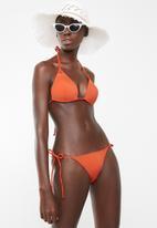 Lithe - Side-tie bikini bottom - orange