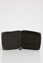 BOSSI - Primzp wallet - brown