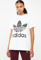 adidas Originals - T-shirt - white