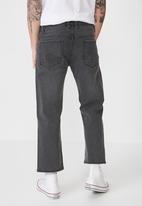 Cotton On - Vintage straight jean - black