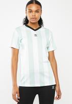 adidas Originals - T-shirt - ash green & white