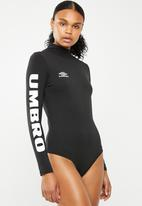 Umbro - Scoop back body suit - black
