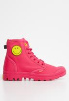 Palladium - Pampa Smiley Fest Bag - Azalea