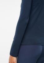 adidas Originals - SC long sleeve tee - navy