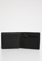 Billabong  - Grit flip wallet - black