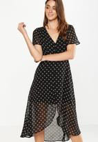 Cotton On - Georgia maxi dress - black