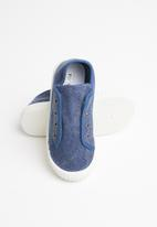 POP CANDY - Canvas slip on - navy