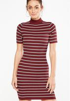 Cotton On - Avon bodycon mini dress - salma stripe