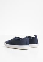 POP CANDY - Lace up sneaker - navy