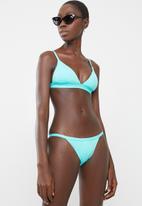PIHA - Tri bikini top - turquoise