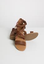 STYLE REPUBLIC - Gladiator sandal - brown