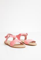 POP CANDY - Buckle  detail sandal - pink