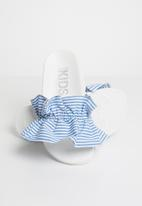 Cotton On - Pool slide - white & blue