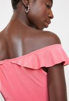 Sissy Boy - Mixmag crop top - pink