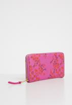 Cotton On - Audrey zip purse - pink