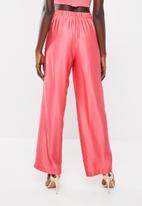 Sissy Boy - Girl boss crop flare trouser - coral