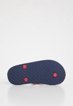 Cotton On - Printed flip flop - navy