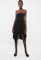 Sun Love - Two-way cover-up dress - black