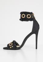 Miss Black - Bea heel - black