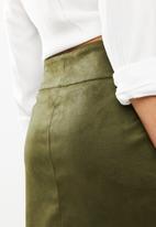 ONLY - Hayley short skirt - khaki