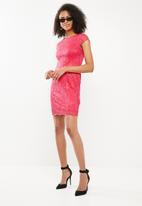 ONLY - Shira lace dress - pink