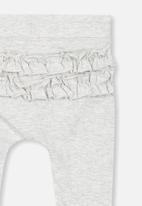 Cotton On - Ria ruffle legging - grey