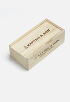 Kapten & Son - Amsterdam gloss sunglasses - silver