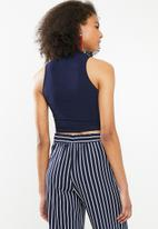 Sissy Boy - Canary twist top - navy