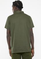 PROCESS BLACK - Hyper short sleeve shirt - khaki