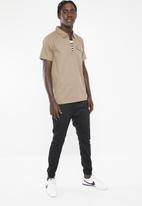 PROCESS BLACK - Hyper short sleeve shirt - taupe