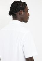 PROCESS BLACK - Kaitosb plain shirt - white