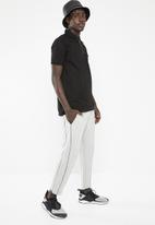 New Look - Sports side stripe jogger - grey