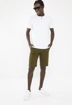 Brave Soul - Russel T-shirt - white