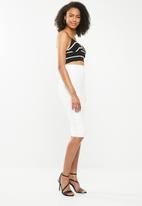 Sissy Boy - Boity midi skirt - white
