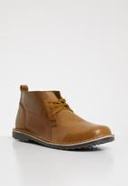 Superbalist - Noah leather boot - tan