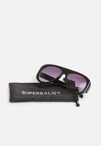 Superbalist - Hugh aviator sunglasses - black