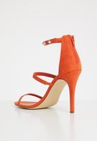 Madison® - Ankle strap heels - orange