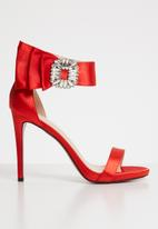 Dolce Vita - Rachel embellished heels - red