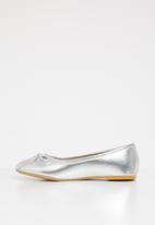 POP CANDY - Bow detailed pump - silver