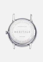 Kapten & Son - Heritage mesh - silver & black