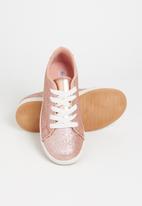 POP CANDY - Glitter sneaker - rose gold