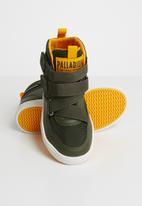 Palladium - Infants pl street m st k - olive night/gold