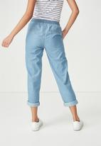 Cotton On - Rolled hem chino - blue