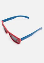 Character Fashion - Spiderman sunglasses - red & blue