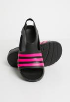 adidas Originals - Adilette play - black & pink