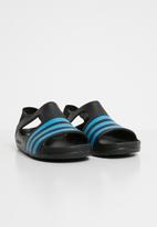 adidas Originals - Adilette play i - cblack/brcyan/brcyan