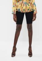 Missguided - Denim shorts - black